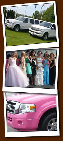 Limos for proms, hen nights, stag nights and birthdays